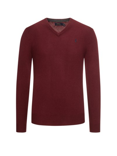 Sweater made of 100% merino wool v BORDEAUX