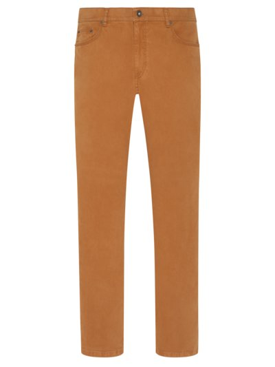 Jeans with stretch aspect, Cooper Fancy v COGNAC