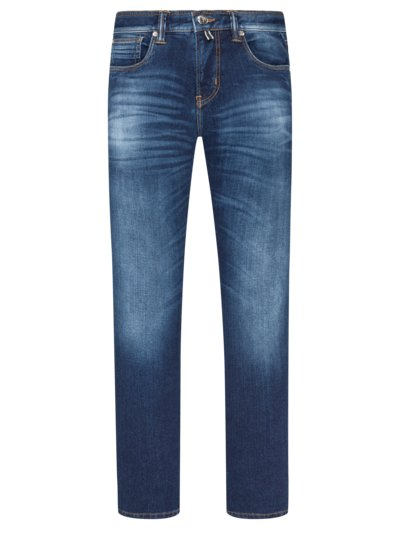 Jeans in a cotton blend v BLUE