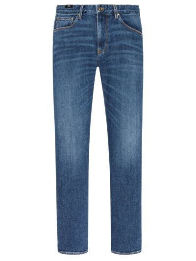 Denim-Jeans im Used-Look, Stephen in BLAU