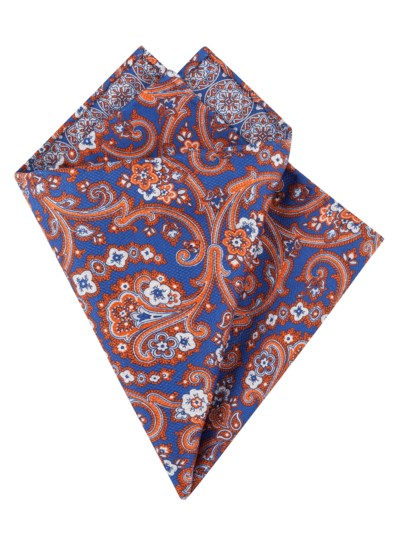 Pocket kerchief, double-sided v BORDEAUX