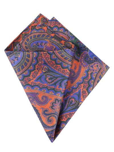 Pocket kerchief, double-sided v ORANGE