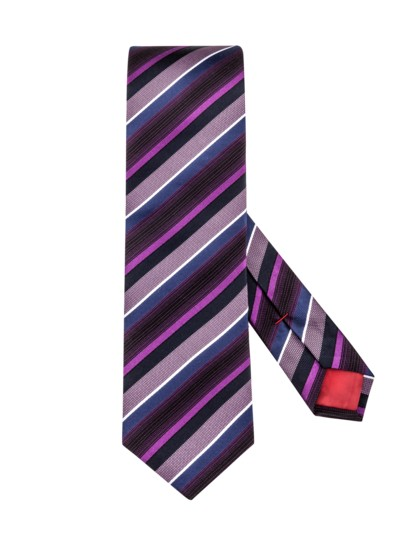 Striped tie v PINK