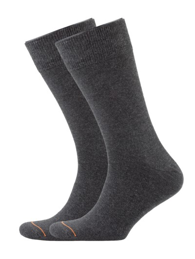 Socken-Doppelpack in ANTHRAZIT