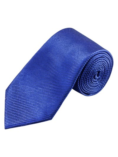 Tie, striped v BLUE