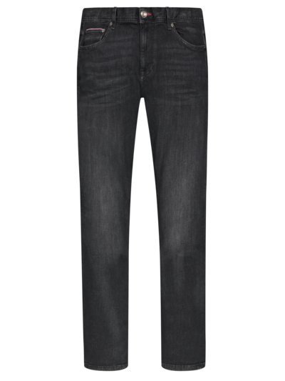 Jeans in a cotton blend v BLACK