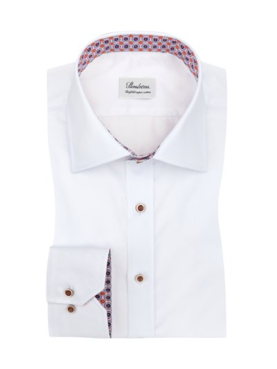 Businesshemd, Twofold Super Cotton in WEISS