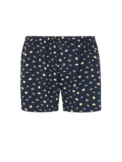 Boxer shorts with allover print v MARINE