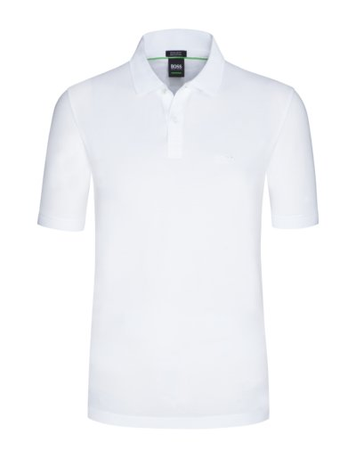 Pure cotton polo shirt v MARINE