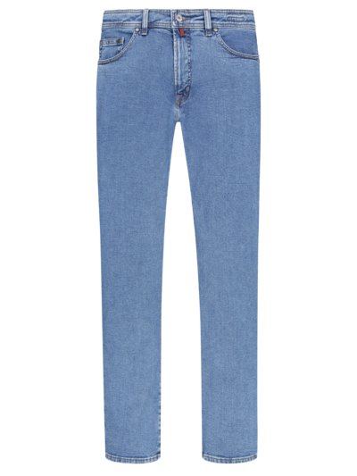 Five-Pocket-Jeans in BLAU