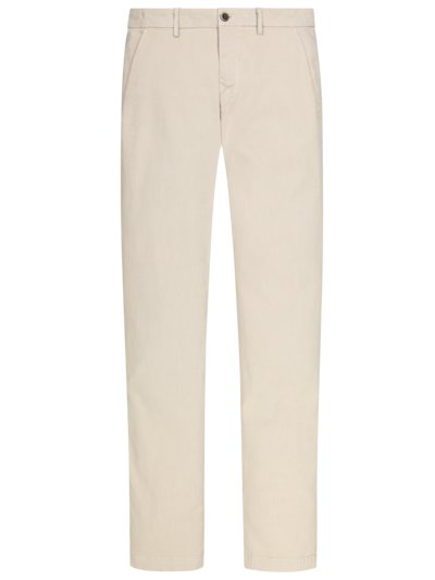 Chino mit dezenter Struktur in BEIGE