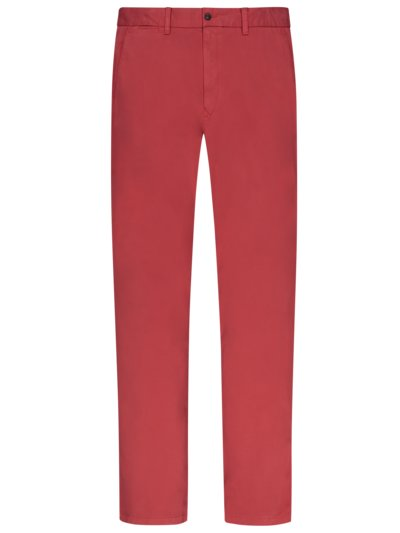 Stretch chinos v RED