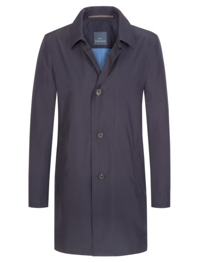Classic coat with windstopper v MARINE