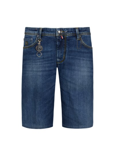 Bermuda in Jeans-Optik in BLAU