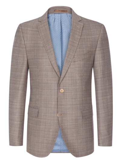 Sport coat made of 100% virgin wool v BEIGE