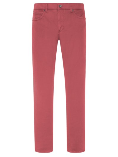 5-pocket pants in ultra-light fabric v RED