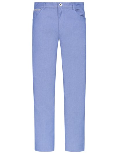 Jeans with a fine texture v LIGHT BLUE