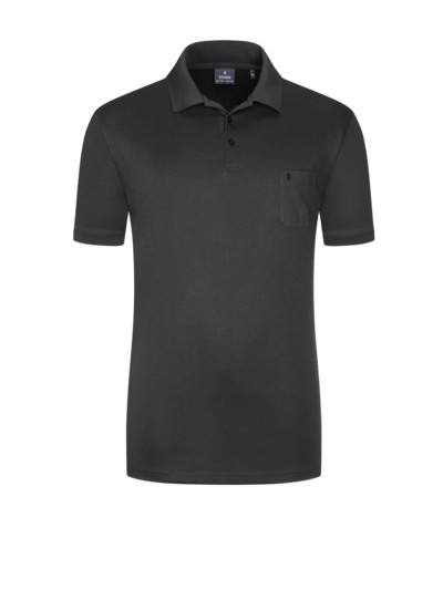 Poloshirt in ANTHRAZIT