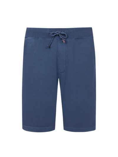 Bermuda sweat shorts v BLUE