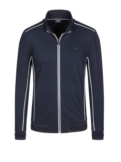 Sweatjacket with stretch content v MARINE