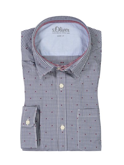 Casual shirt with breast pocket v MARINE