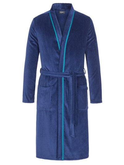 Cosy dressing gown v BLUE