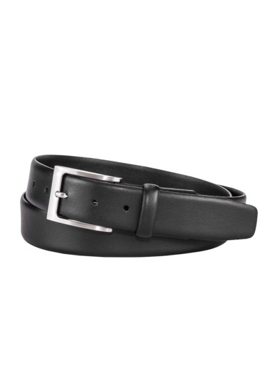 Belt with elasticated insert v BLACK
