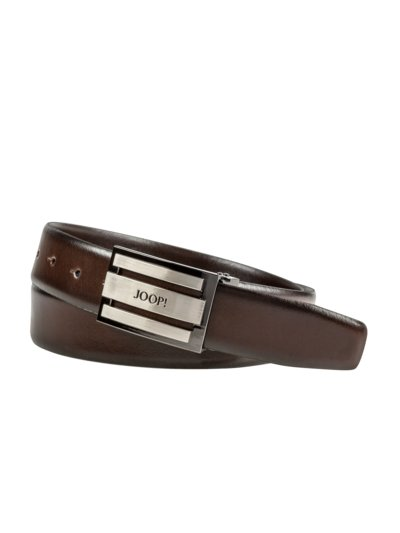 Belt with buckle v BROWN