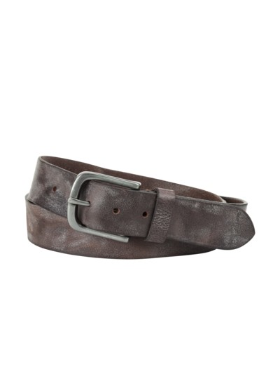 Belt, used look v BROWN