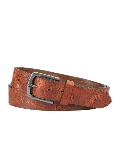 Belt, used look v COGNAC