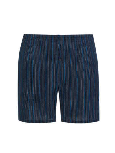 Boxer shorts with striped pattern v MARINE