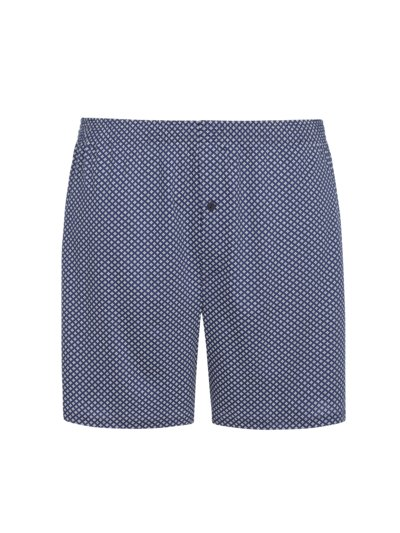 Boxer shorts with a stylish pattern v MARINE