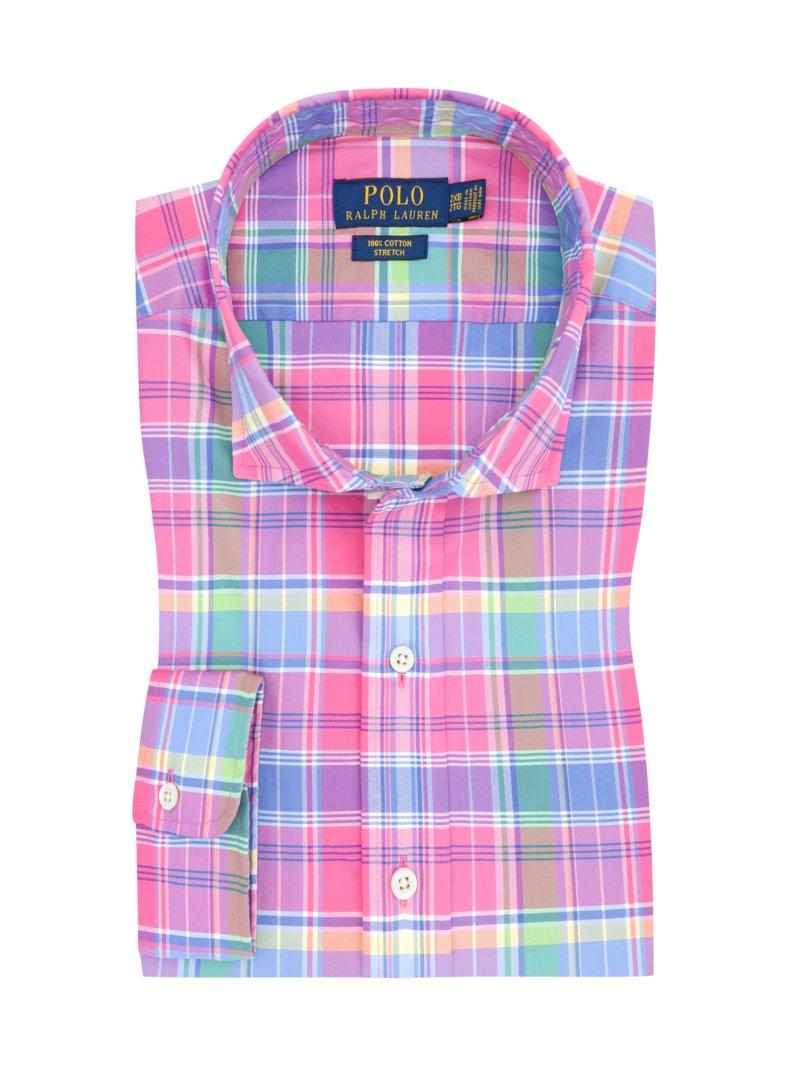 the best attitude de089 bf961 Polo Ralph Lauren Freizeithemd im Überkaro pink – Herrenmode ...