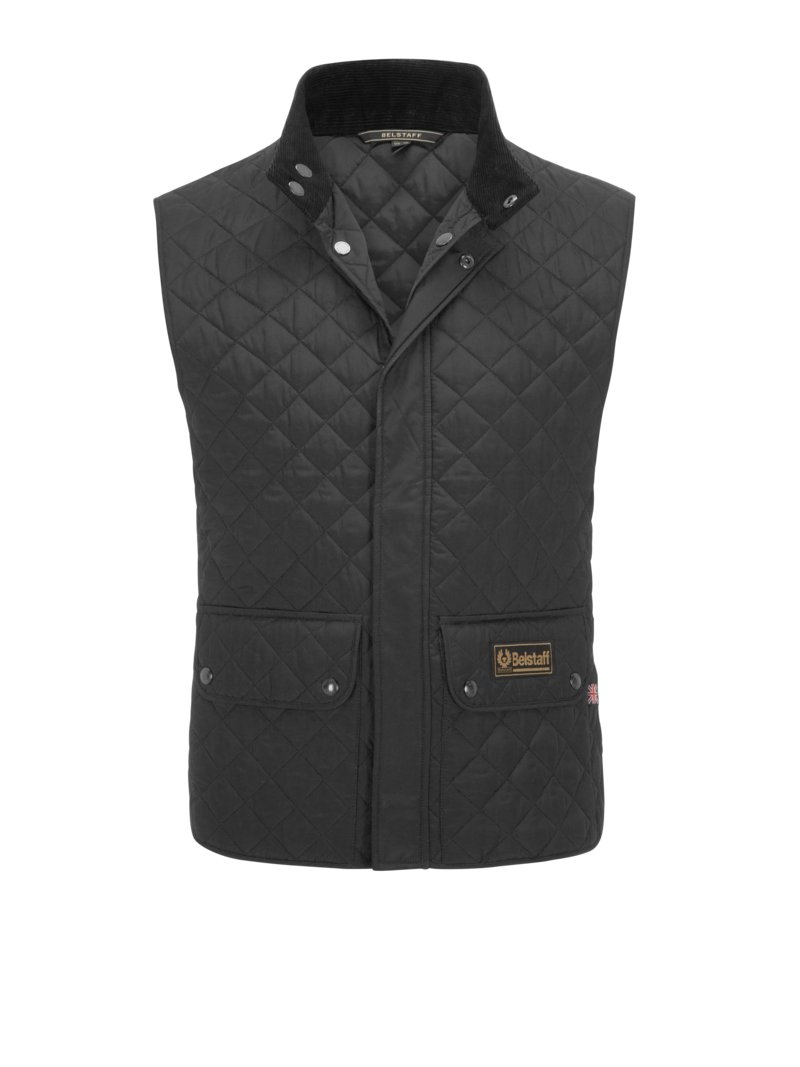 Belstaff Classic quilted vest RED in plus size