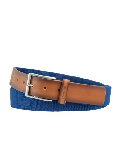 Stretchy belt v BLUE