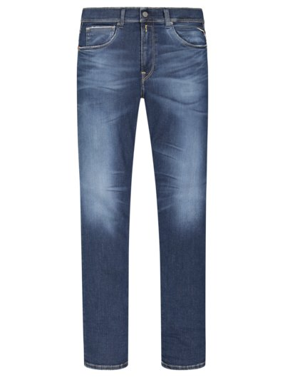 Jeans with stretch content, Anbass v BLUE