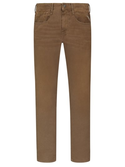 Stylish jeans with stretch content, Anbass v BROWN