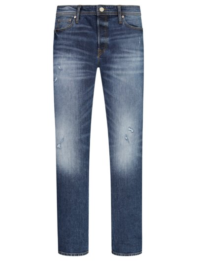 Stylish jeans with stretch content v BLUE
