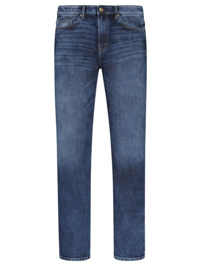 Denim-Jeans mit Stretchanteil, Relaxed Fit in BLAU