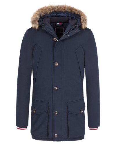 Stylish down parka v MARINE
