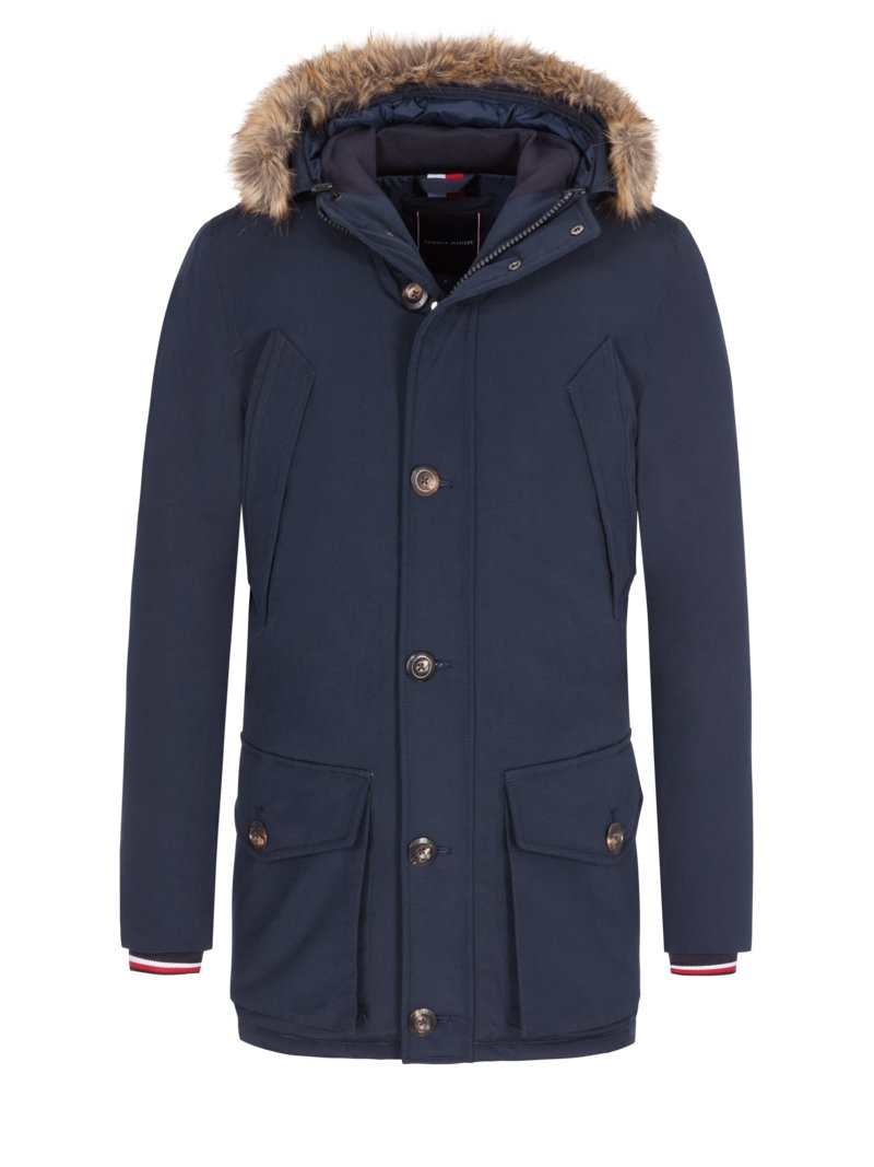 Tommy Hilfiger Stylish down parka MARINE in plus size