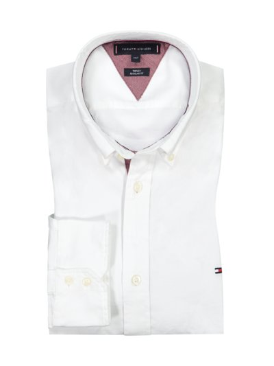 Shirt with micro texture, with THFlex v WHITE