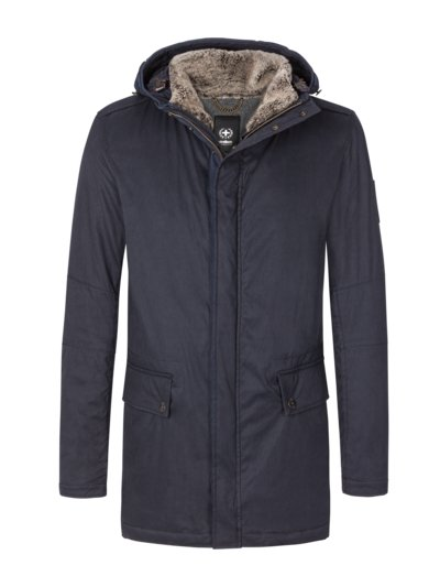 2-in-1 casual jacket with hood, Swiss Cross Collection v BLUE