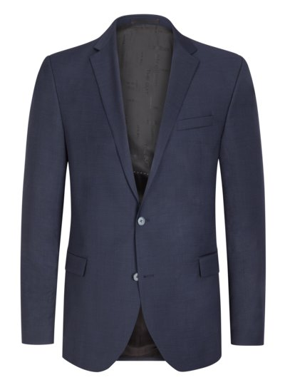 Suit separates jacket with micro pattern v MARINE