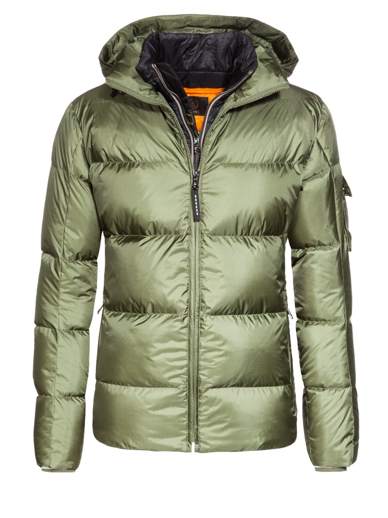 Bogner Ski jacket with an integrated yoke, Simon-D OLIVE- in plus size