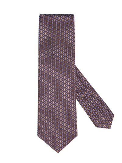 100% silk tie v BROWN