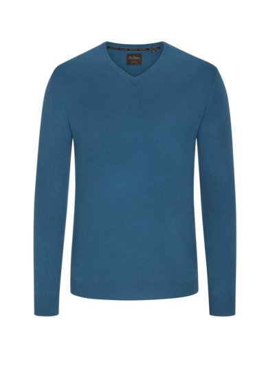 Sweater made of 100% cashmere v PETROL