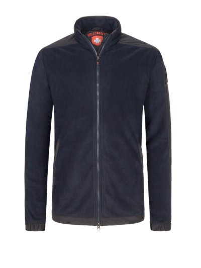 Freizeitjacke in weichem Fleece in MARINE