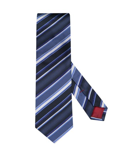 Silk tie with Bionic finish v BLUE