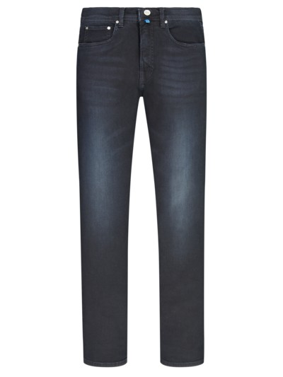 Bequeme 5-Pocket Jeans mit Future-Flex in DUNKELBLAU